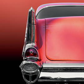US American classic car bel air 1957 by Beate Gube