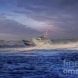 US Coast Guard Rescue Boat  by Mitch Shindelbower