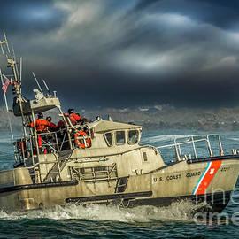 US Coast Guard Surf Boat by Mitch Shindelbower