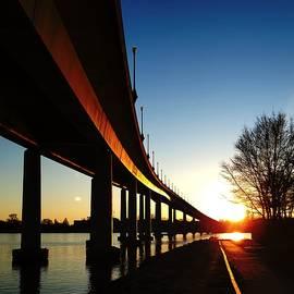 US Naval Academy Bridge by Ree Streety