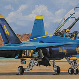 U.S. Navy Blue Angels by Bill Dunkley