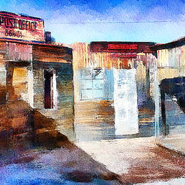 US Post Office in Ghost Town Arizona by Tatiana Travelways