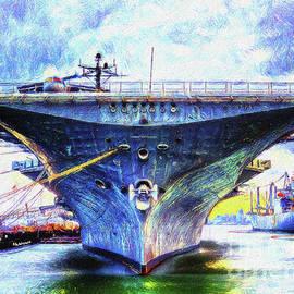 USS Hornet by Linda Weinstock