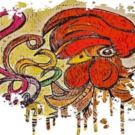 Vain Rooster by Eloise Schneider Mote