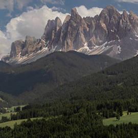Val di Funes by Norma Brandsberg