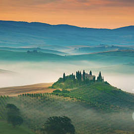 Val D'Orcia Panorama by Inge Johnsson