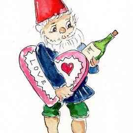 Valentines Gnome by Rita Drolet