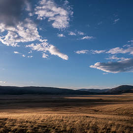 Valles Caldera at Sunset by Mary Lee Dereske