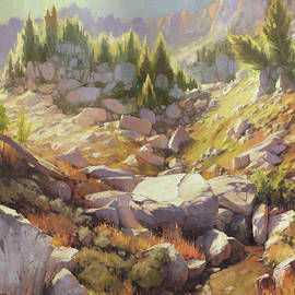 Valley of Stones by Steve Henderson