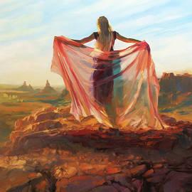 Valley of the Goddess by Steve Henderson