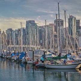 Vancouver Skyline by Richard Smith