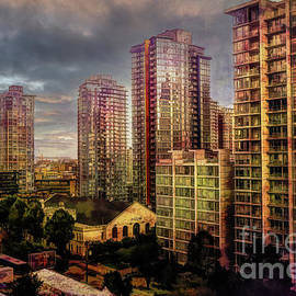 Vancouver Storm Clouds by Deb Nakano