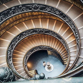 Vatican Museums Staircases by Giovanni Laudicina