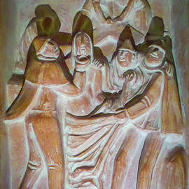 Vatican Plaque by Norma Brandsberg