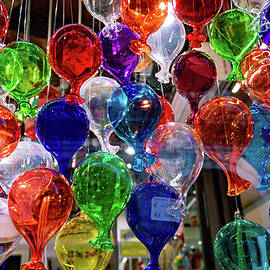 Venetian Art Glass Balloons by Andrew Cottrill