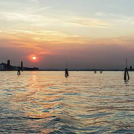 Venetian Lagoon Travel - Sailing on the Silky Sunpath by Georgia Mizuleva