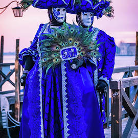 Venetian Peacock Twins by Lyl Dil Creations