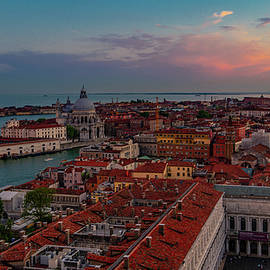 Venetian Sunset by Andrew Cottrill