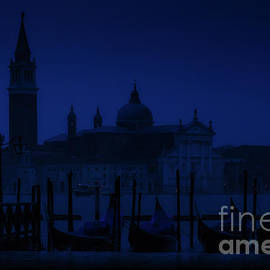 Blue hour in Venice Italy by Rita Di Lalla