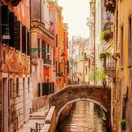 Venice Canal, Italy. by Maggie Mccall