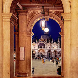 Venice,  San Marco by Andrew Cottrill