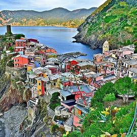 Vernazza from Behind by Frozen in Time Fine Art Photography