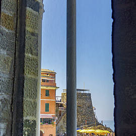 Vernazza through the Window by Andrew Cottrill