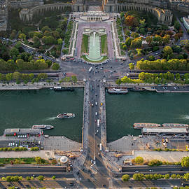 Vertical Pano of Paris, France by John Twynam