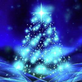 Very Merry Blue Christmas by Teresa Trotter