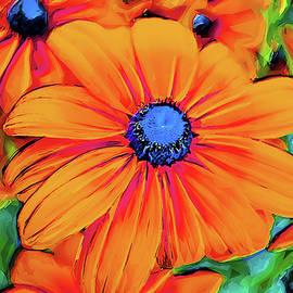 Vibrant Flowers by Alex Mir
