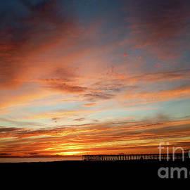 Vibrant Ventura Sunset by Julieanne Case