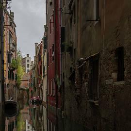Small canals in Venice Italy by Rita Di Lalla