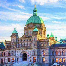 Victoria Parliament Building, BC Canada by Tatiana Travelways