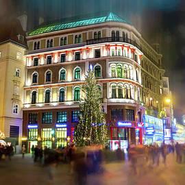 Vienna Austria By Night  by Carol Japp