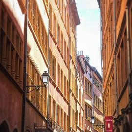 Vieux Lyon France Rue de Boeuf by Carol Japp