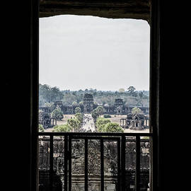 View from Angkor Wat Temple by Shawn Dechant