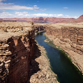 View From Navajo Bridge by Cathy Franklin
