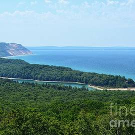 View from the Dunes by Lisa Lindgren