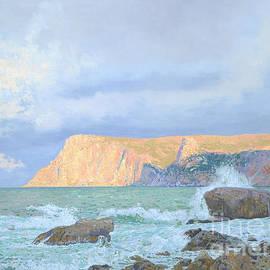 View of Cape of Curon. Balaklava. Crimea by Simon Kozhin