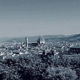 View of Florence from Piazzale Michelangelo by Joe Vella