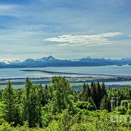 View Of Homer Spit by Robert Bales