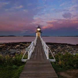 View of Marshall Point Light by Diane Diederich