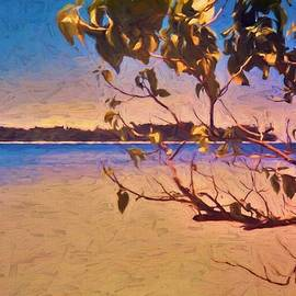 View Of Small Islands Near Gizo Solomon Islands by Joan Stratton