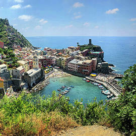 View of Vernazza by Sierra Vance