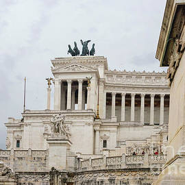 View to the Altar of the Fatherland, Rome, Italy by Beautiful Things
