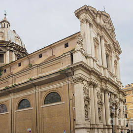 View to the historical buildings, ROME, ITALY by Beautiful Things