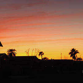 Viewing Foothills Sunset by Robert Bales
