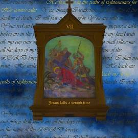 VII Jesus Falls A Second Time by Joan Stratton