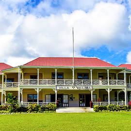 Villa Vailima -Apia-Samoa by Maria isabel Villamonte