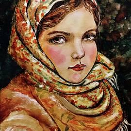 Village girl by Lana Sylber